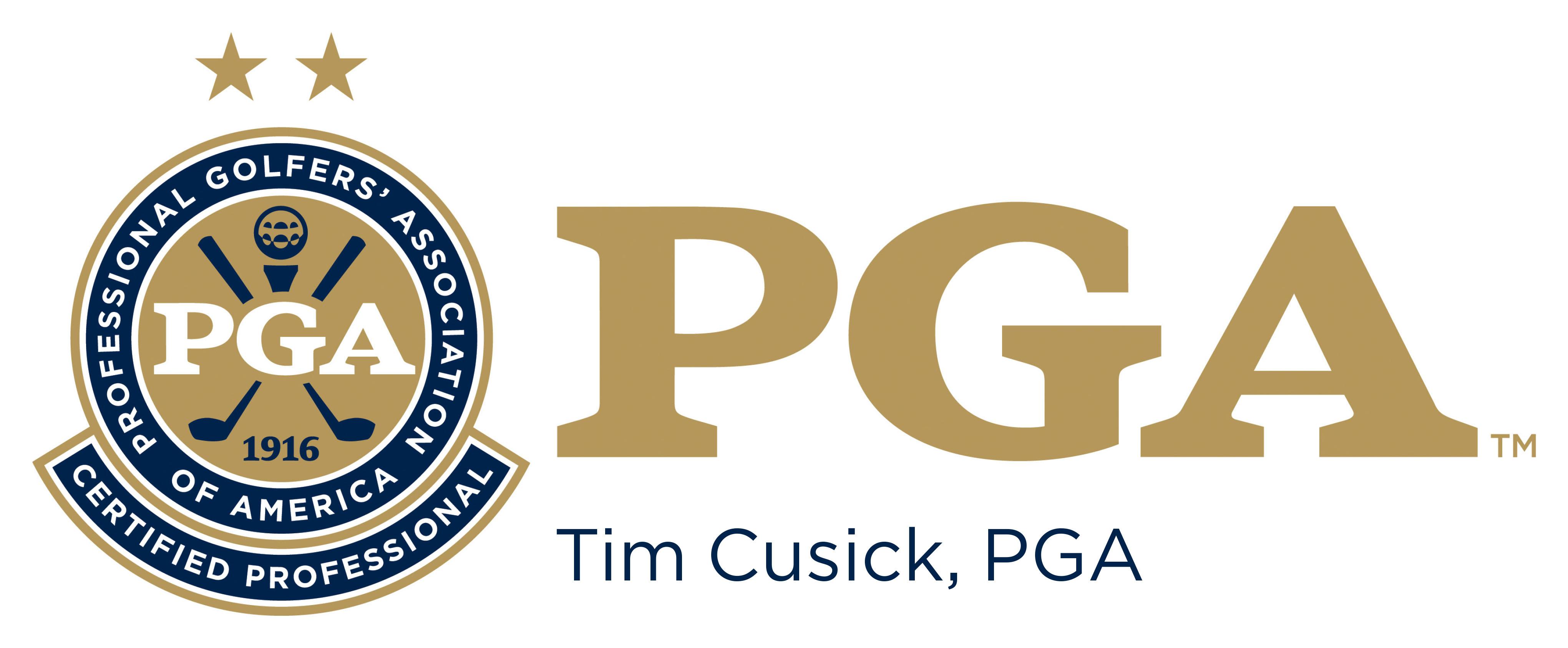 PGA Certified Logo
