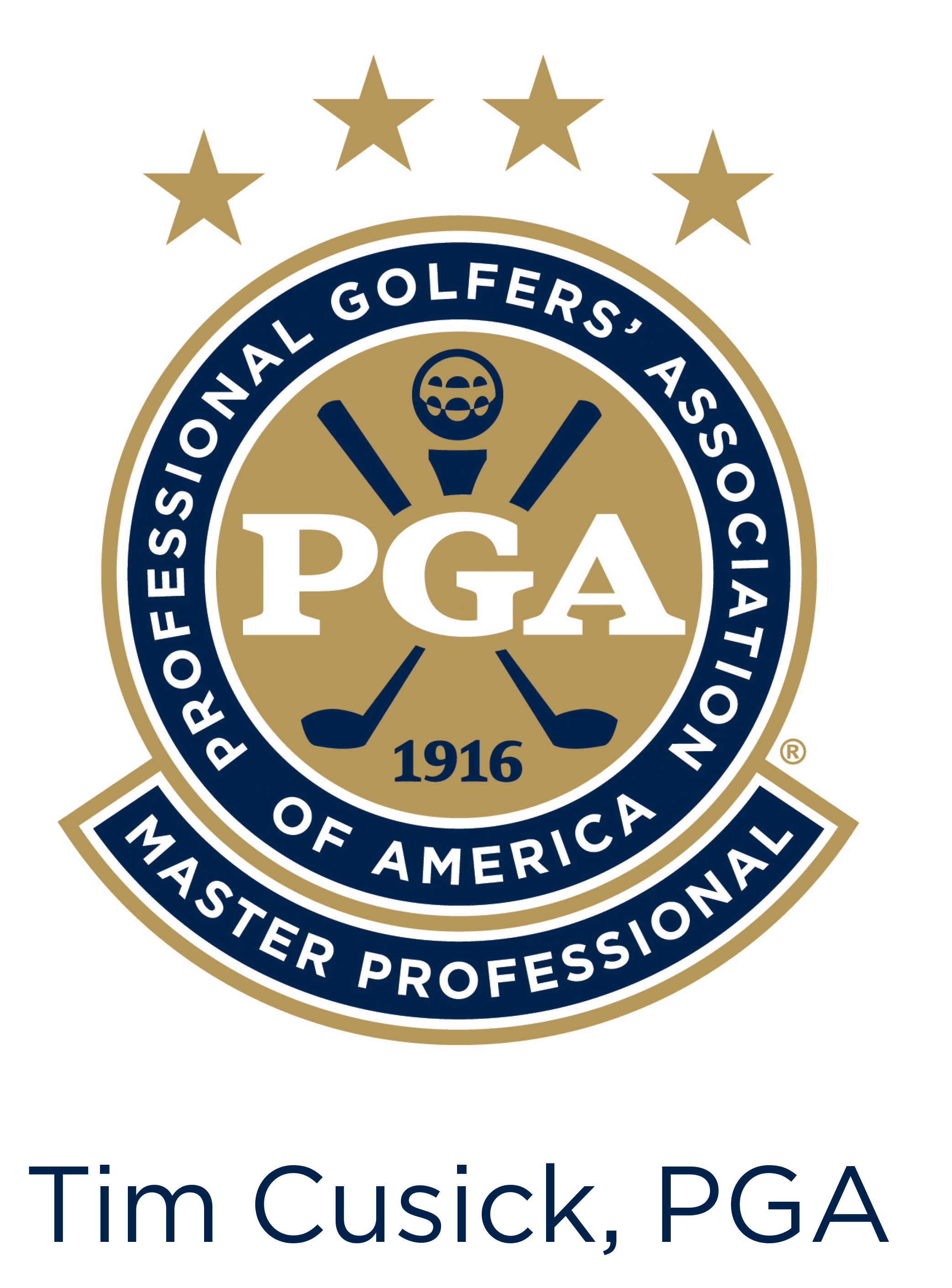 Master Professional PGA Logo - TC